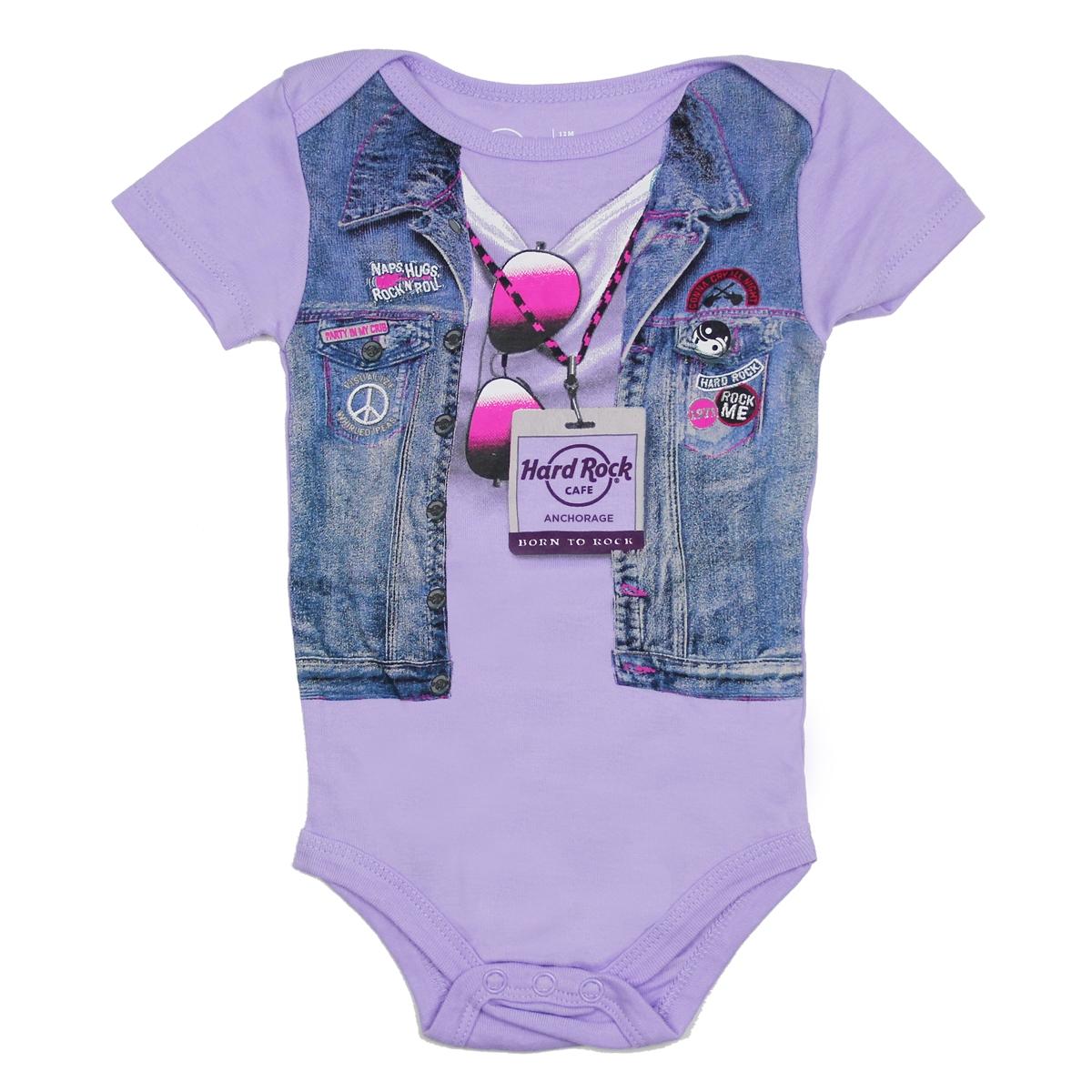 Infant Denim Jacket Onesie Anchorage 0