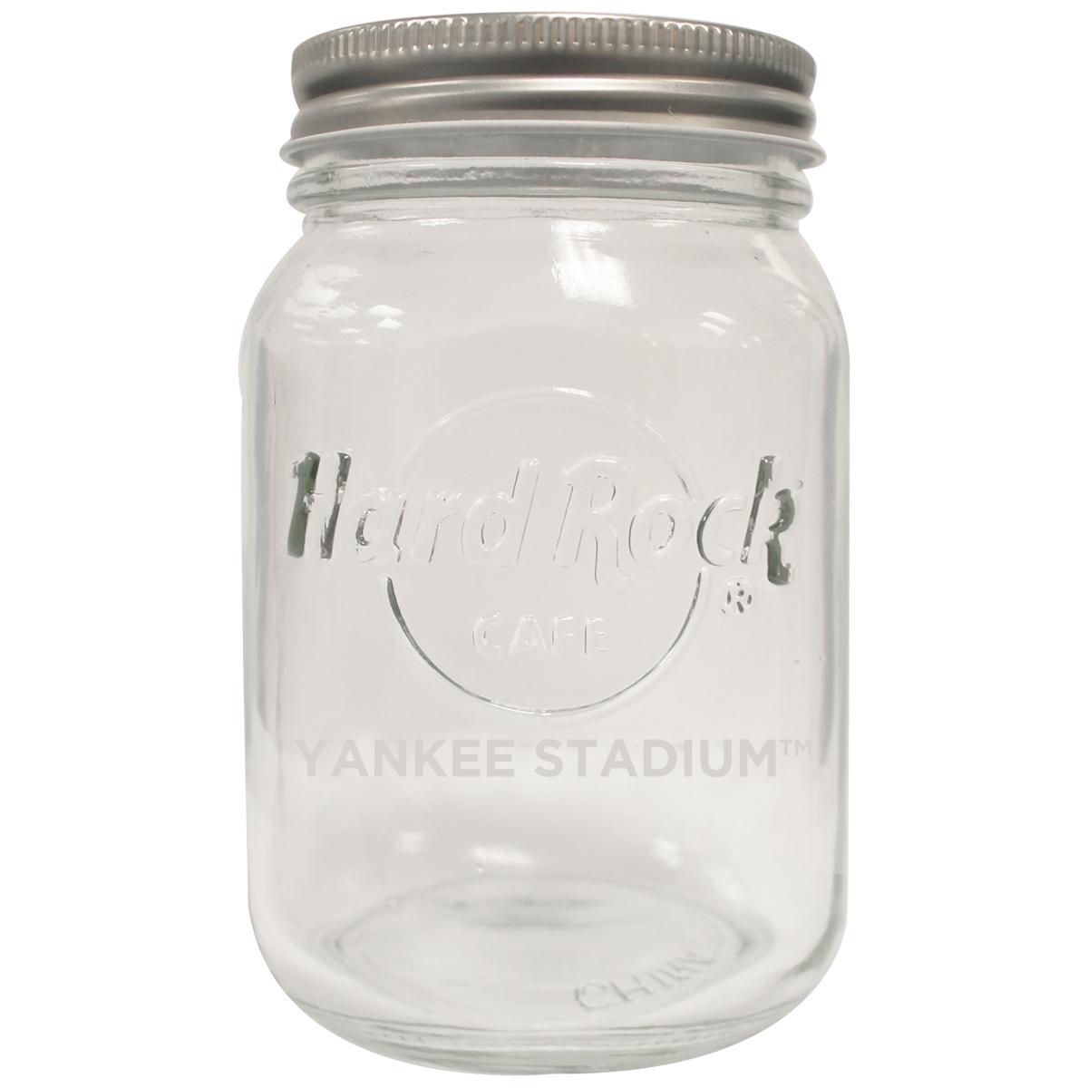 16oz Mason Jar Yankee Stadium 0