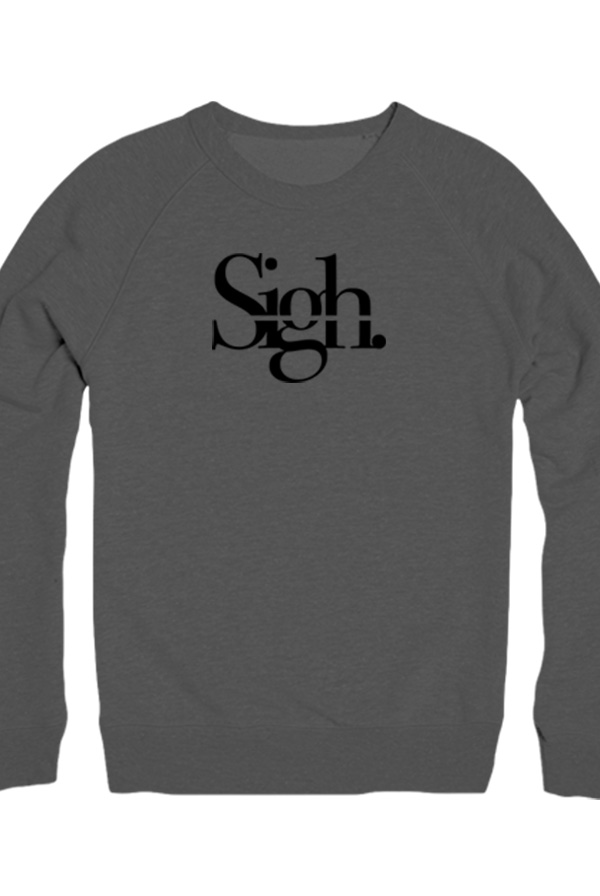 a1a139d6f8 Line-Through Crewneck (Charcoal) - Sigh Mike Merch - Official Online Store  on District Lines
