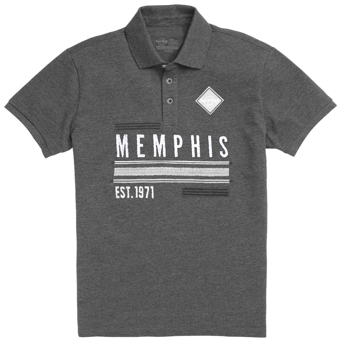 Mens Destination Pique Polo Memphis 0