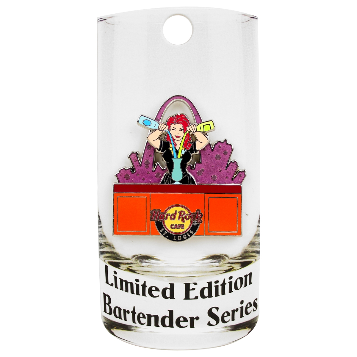 Bartender Series Pin St Louis 0