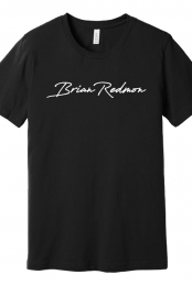 Signature Tee (Black) - Brian Redmon