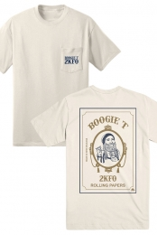 Smoking Man Tee (Ivory)