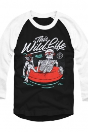 Inner Tube Raglan (Black/White)