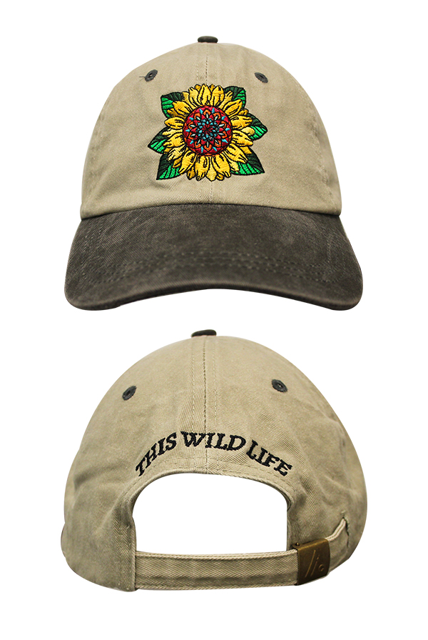f5751db6d9b2d Sunflower Dad Hat Accessory - This Wild Life Accessories - Online Store on District  Lines
