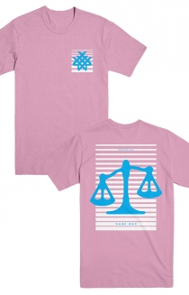 Scale Fade Tee (Pink)