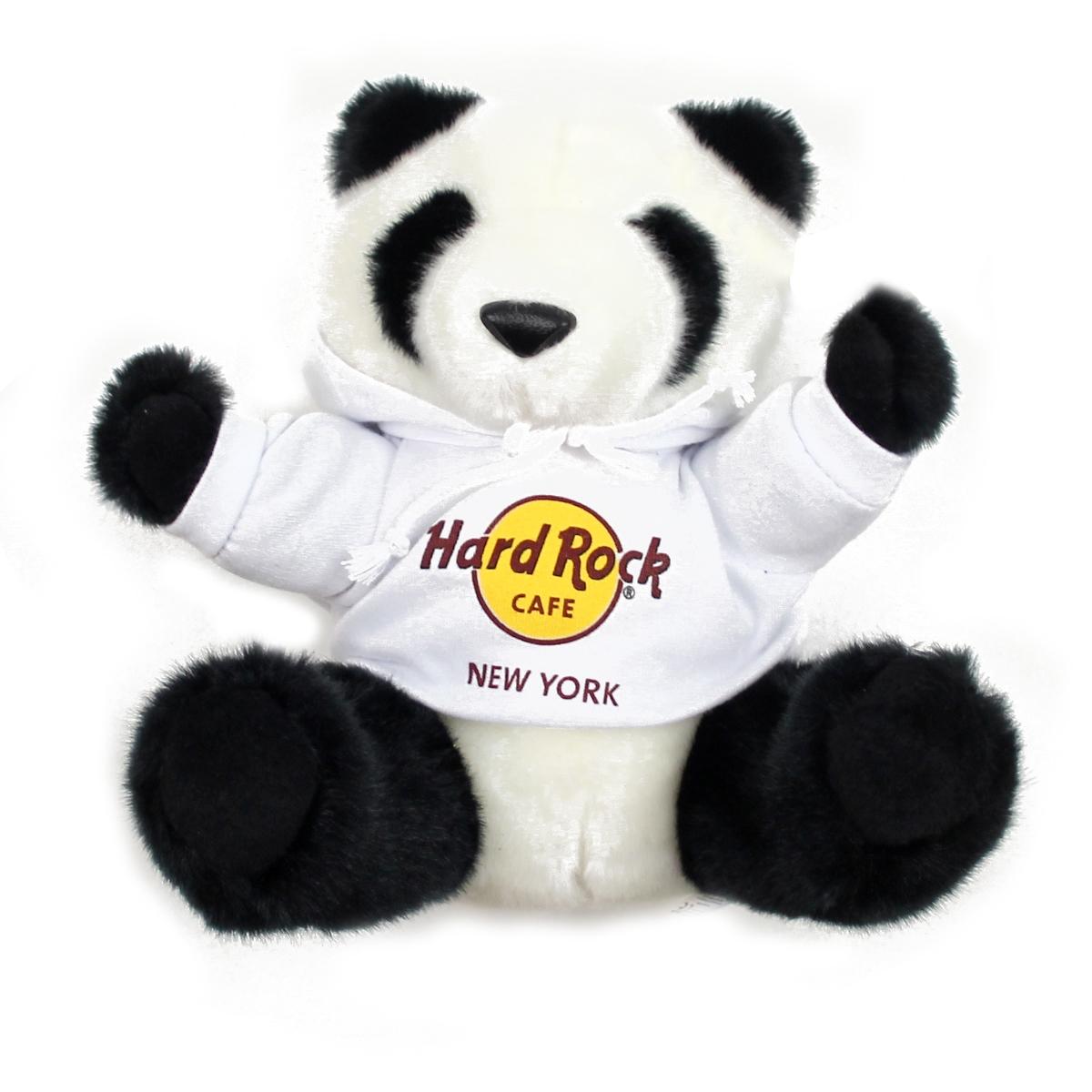 Panda Hoodie Bear New York 0