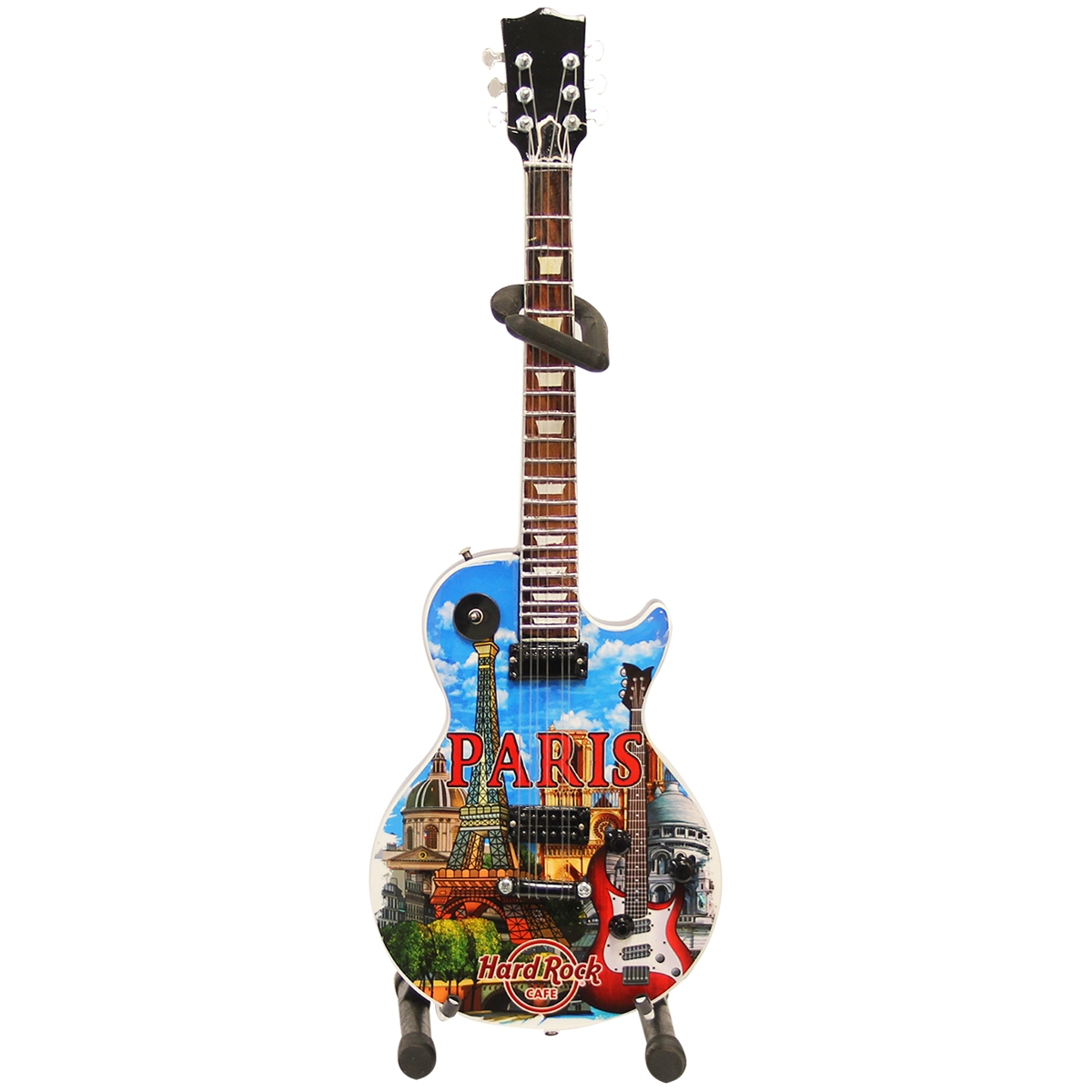 Mini City Guitar with Stand Paris 0