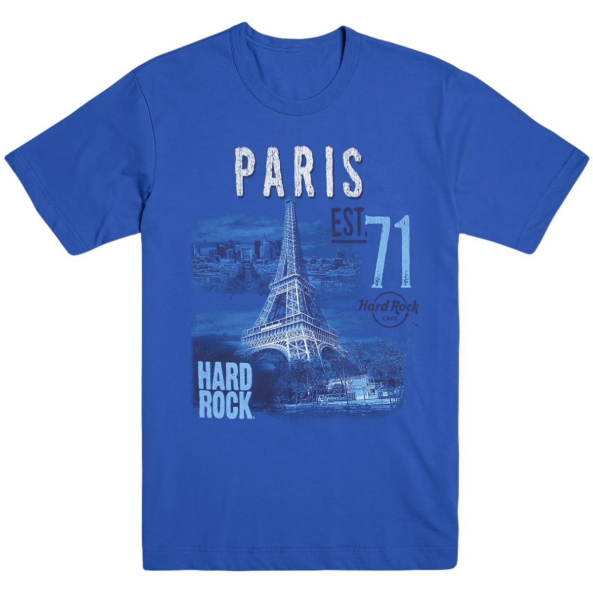 Mens Alt City Tee Blue V2 Paris  0