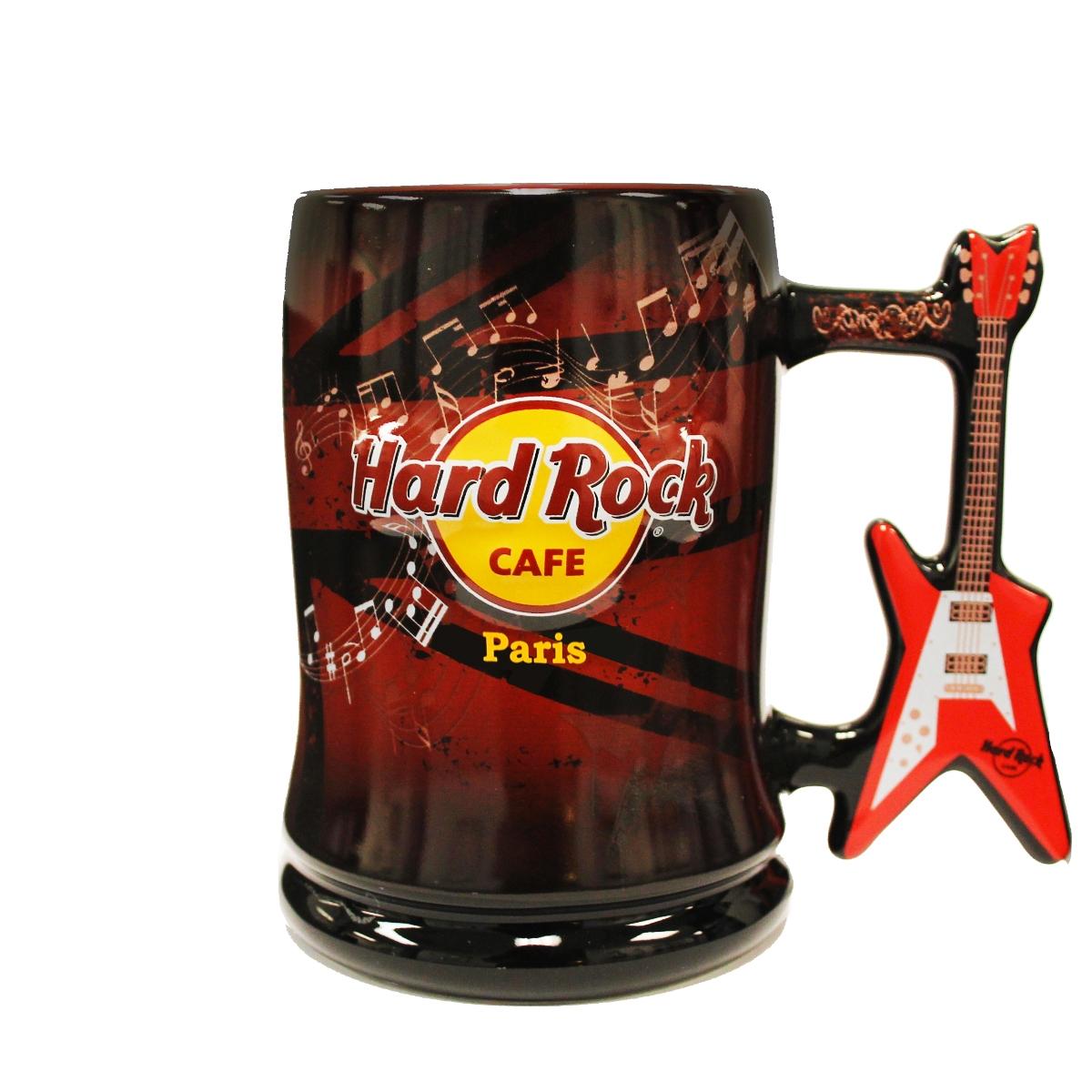 HRC V Shaped Guitar Handle Mug Paris 0
