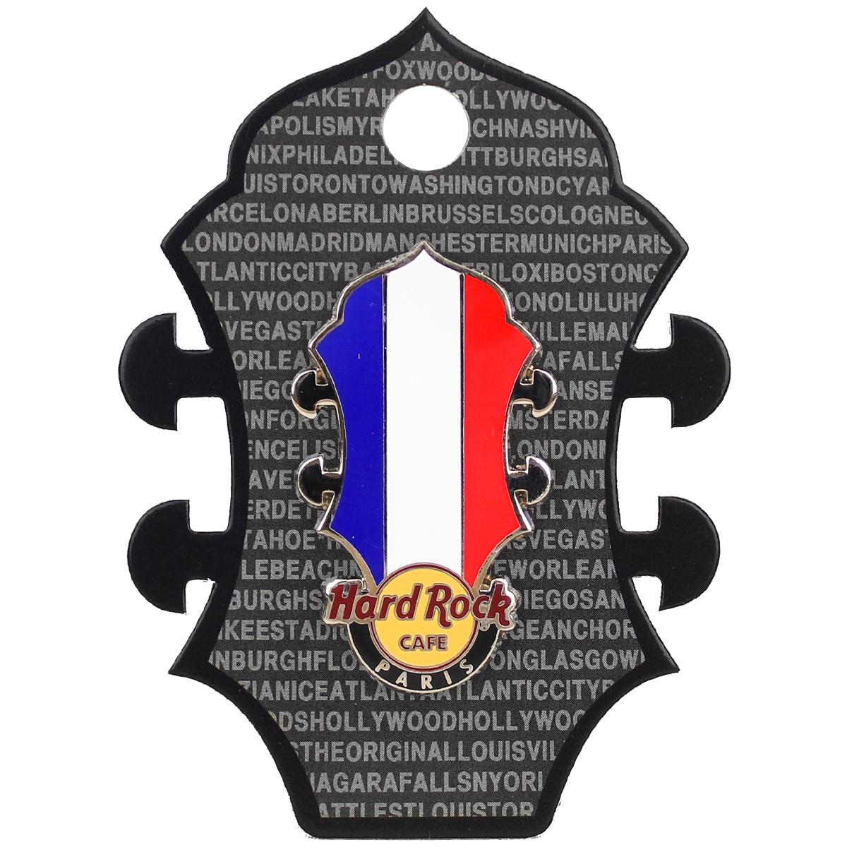 HR CORE Headstock Flag Paris 0