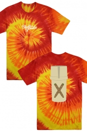 Pill Bottle Tee (Blaze Tie Dye)