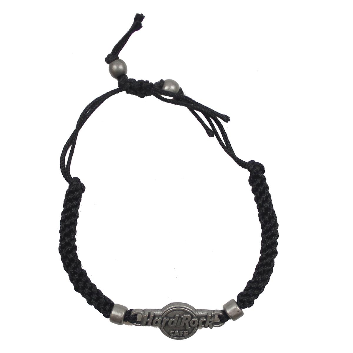 couleur rapide site professionnel profiter de prix bas Rock Shop - Europe Logo Bracelet (Black)