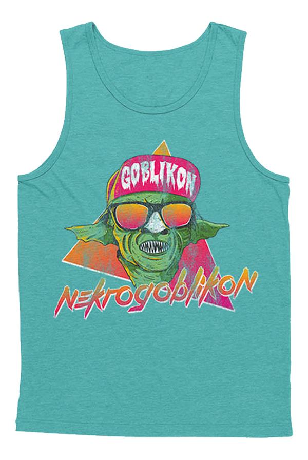 6740081f9641 Summer Goblin Tank (Teal) T-Shirt - Nekrogoblikon T-Shirts - Online Store on  District Lines