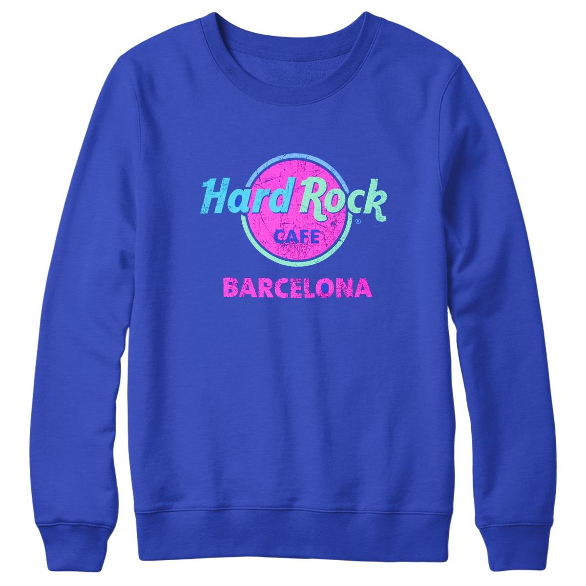 Throwback Logo Sweatshirt Barcelona 0
