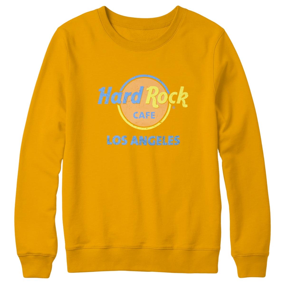 Throwback Logo Sweatshirt Los Angeles 0