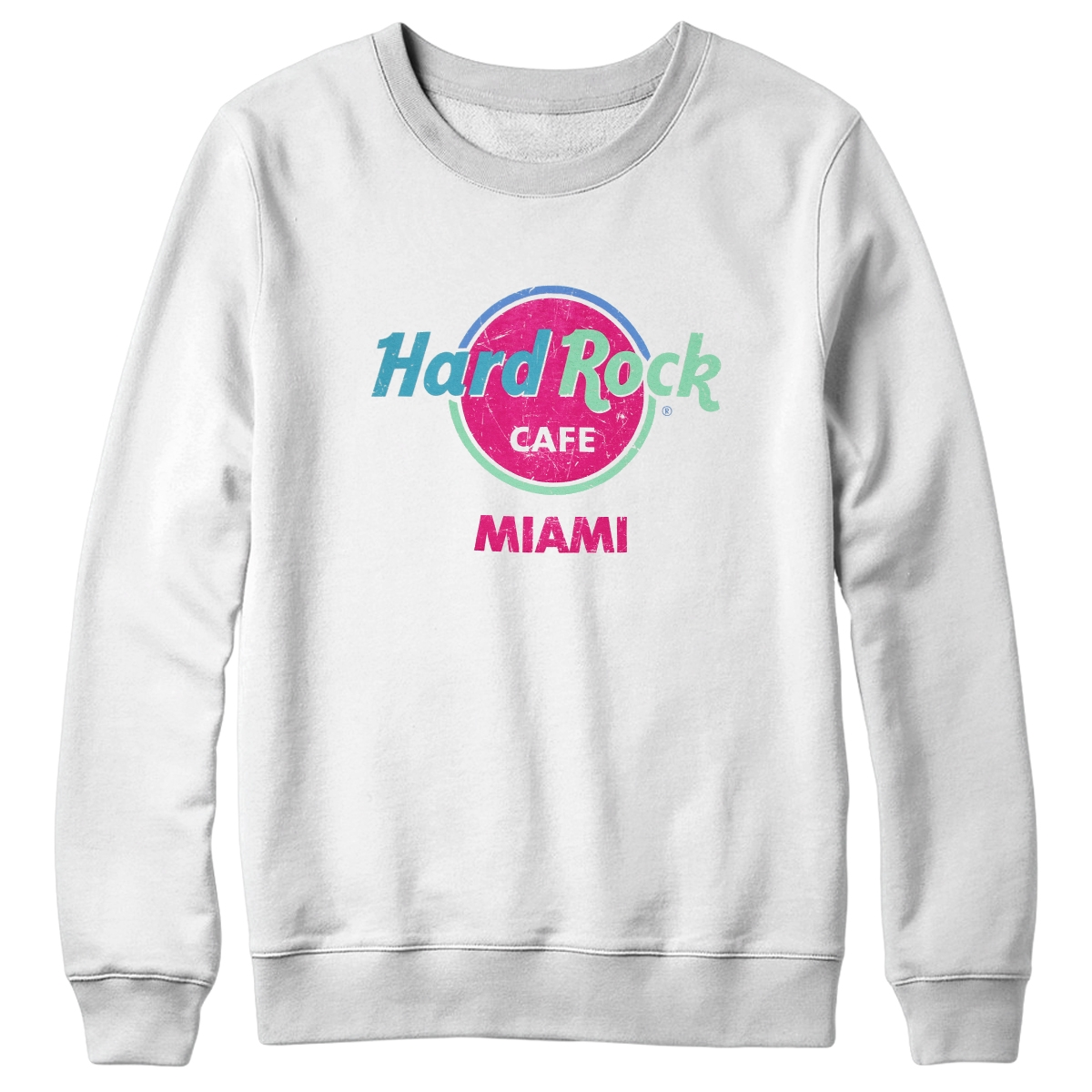 Throwback Logo Sweatshirt Miami 0