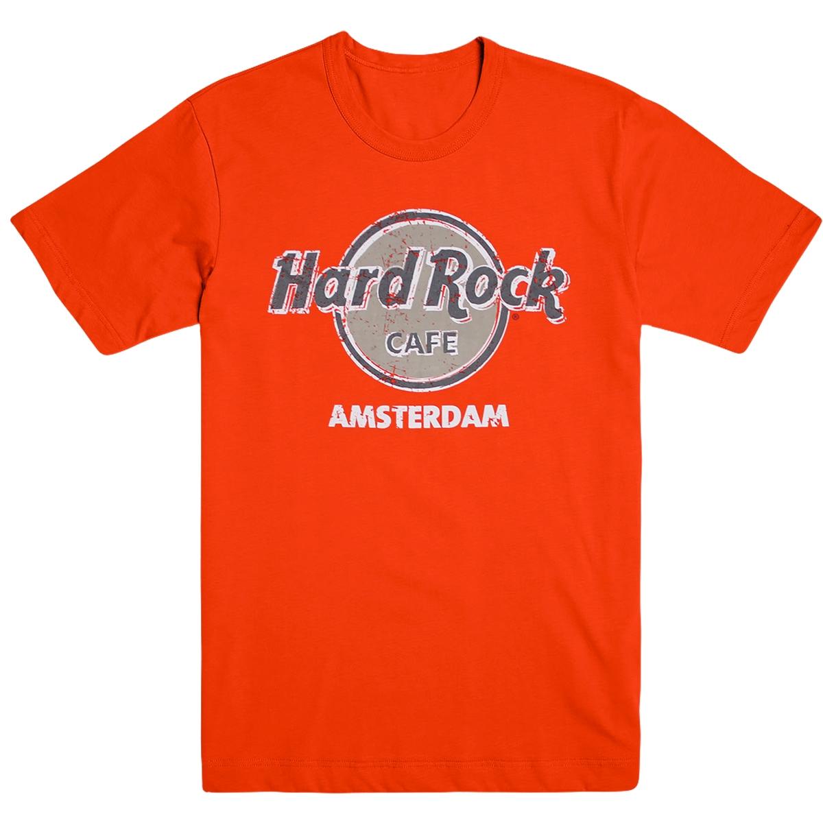 Throwback Logo Tee Amsterdam 0