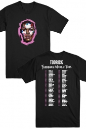 Face Tee (Black) - Todrick Hall