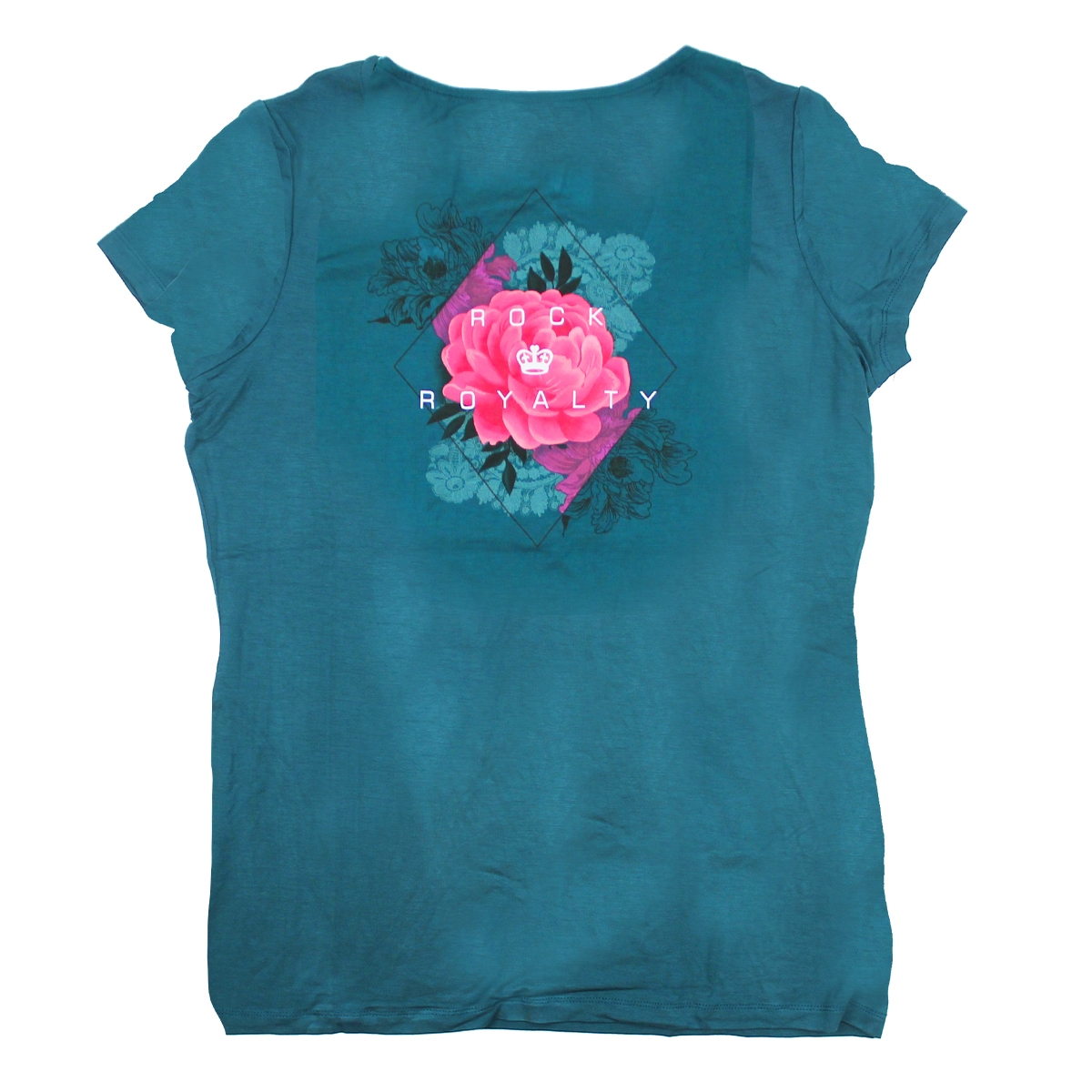 Ladies Couture Laced Neck Tee, New York 1