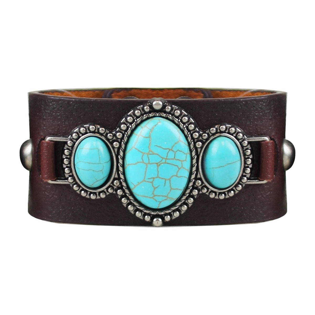 Brown Leather Bracelet 0