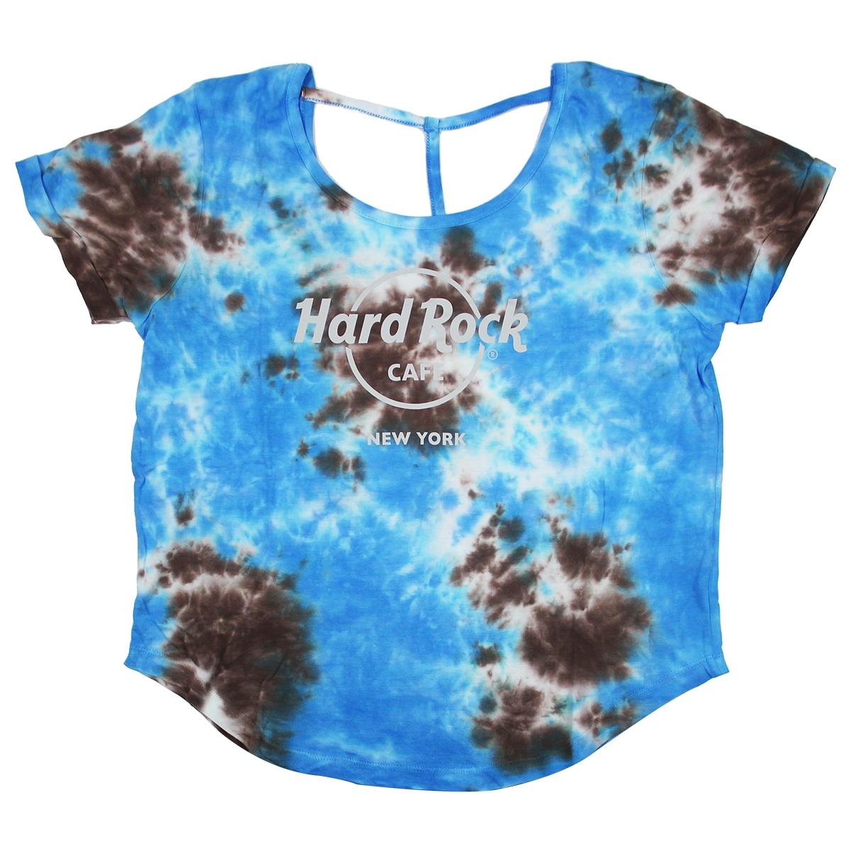 2017 new Boyfriend Roll Up T Shirt blau Frauen Kleidung
