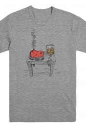 Smoking Heart Tee
