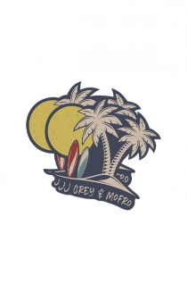 Die Cut Palm Sticker (2- Pack)