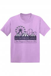 Munchkinland Tee (Light Purple)