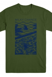 Milky Chance Hands T-Shirt (Olive)