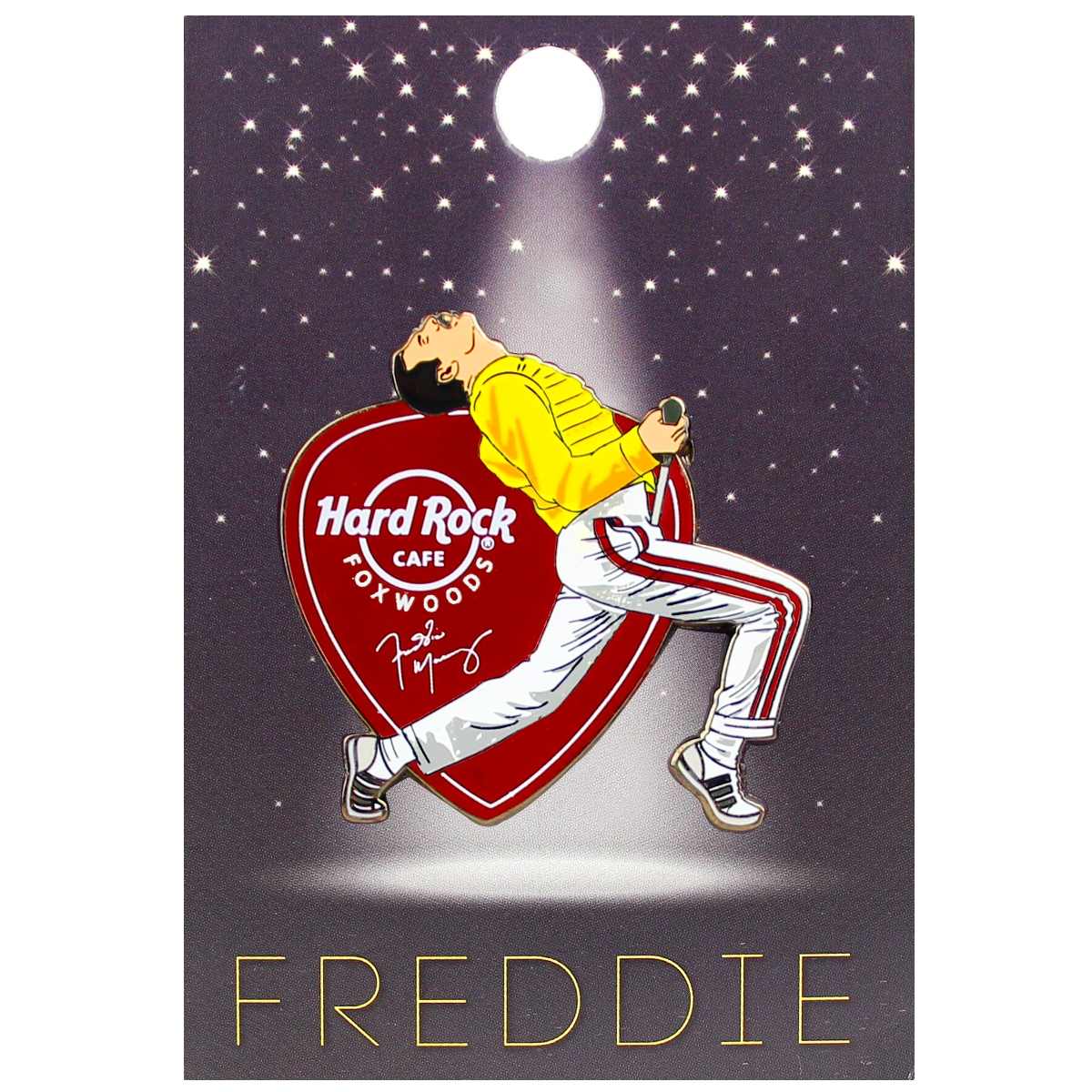 Freddie For A Day Pin 2018, Foxwoods 0