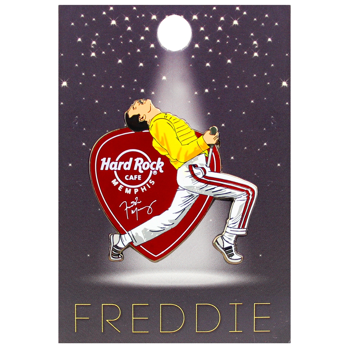 Freddie For A Day Pin 2018, Memphis 0