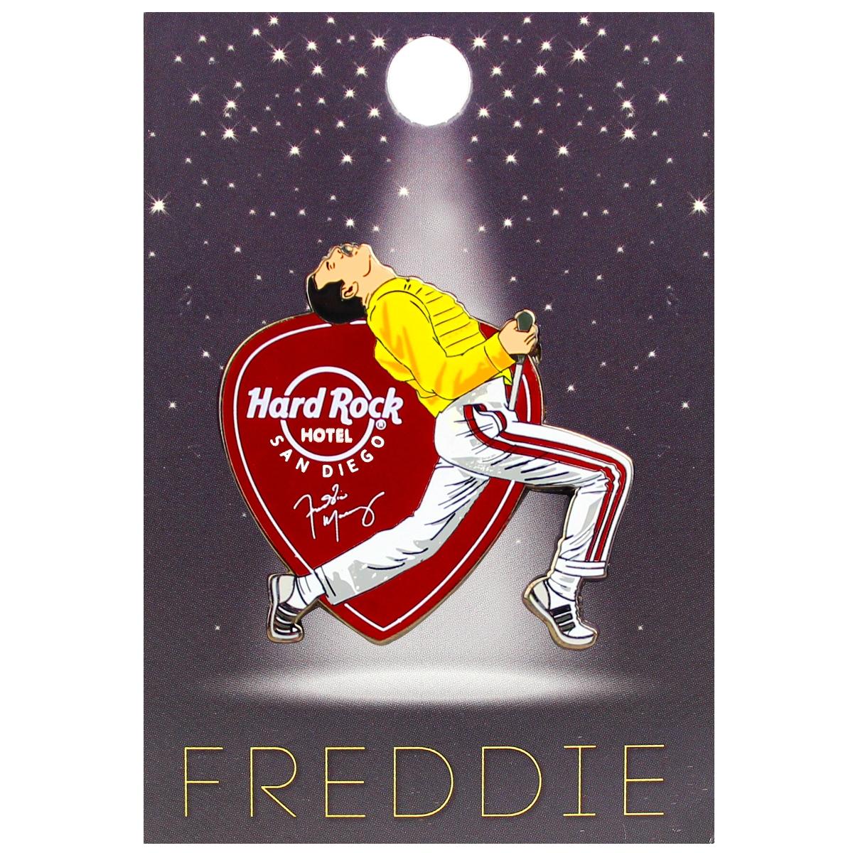 Freddie For A Day Pin 2018, San Diego Hotel 0