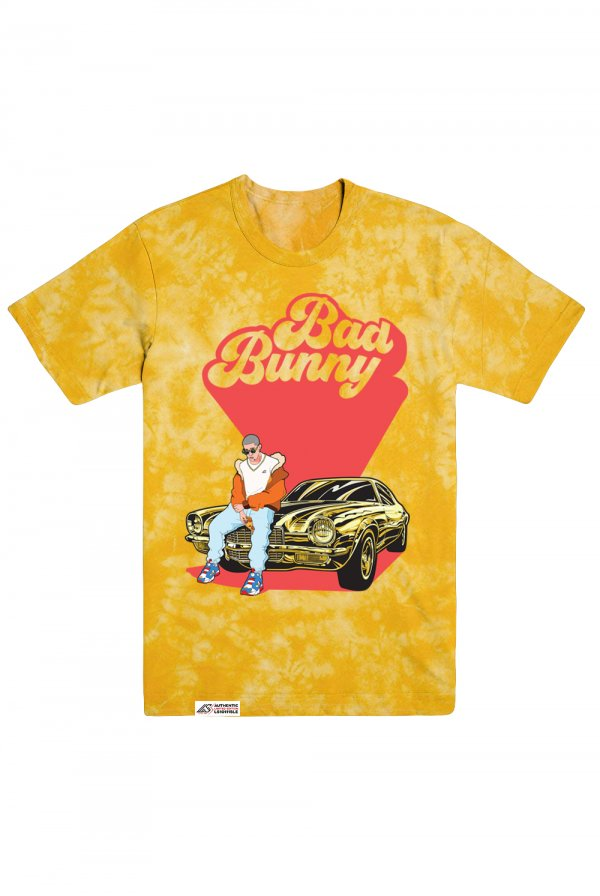 Bad Bunny Tee (Gold) - Limited Edition Series