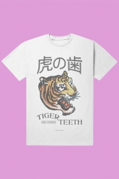Tiger Teeth Vintage Tee