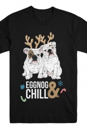 Eggnog & Chill - Eggnog The Bulldog