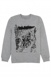 Drawing Crewneck - Grey Triblend