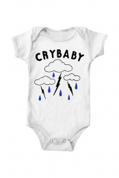 Cry Baby Onesie (White)