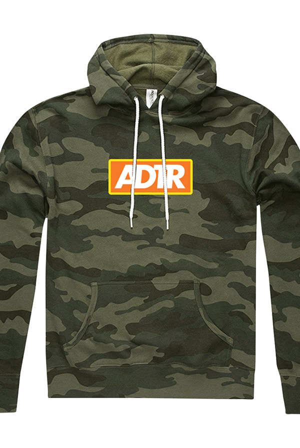 Box Logo Pullover Hoodie (Camo)