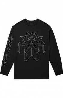 Dimensional Long Sleeve Tee (Black)