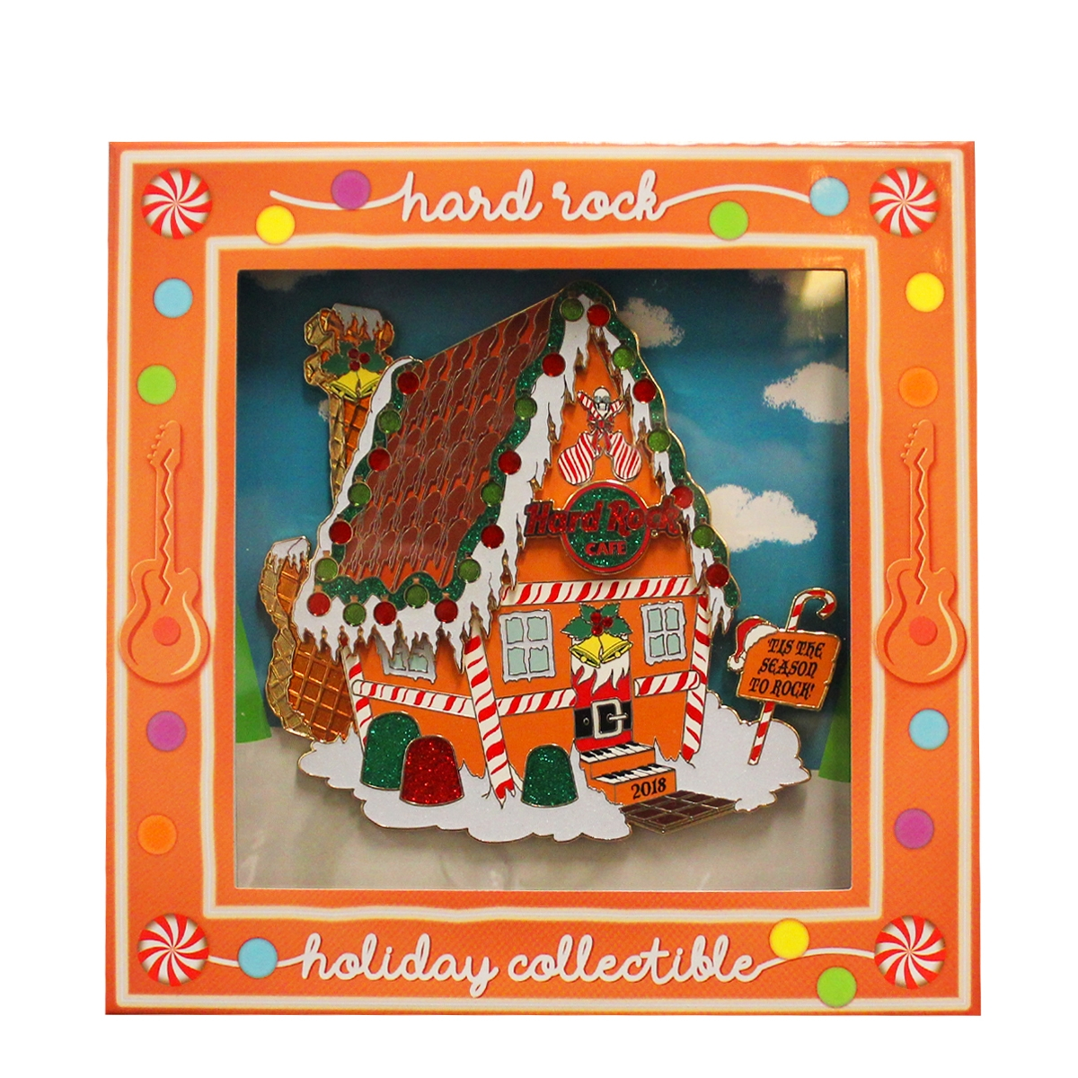Gingerbread House Jumbo Pin 18 0