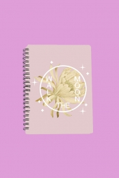 Desert Flower Notebook