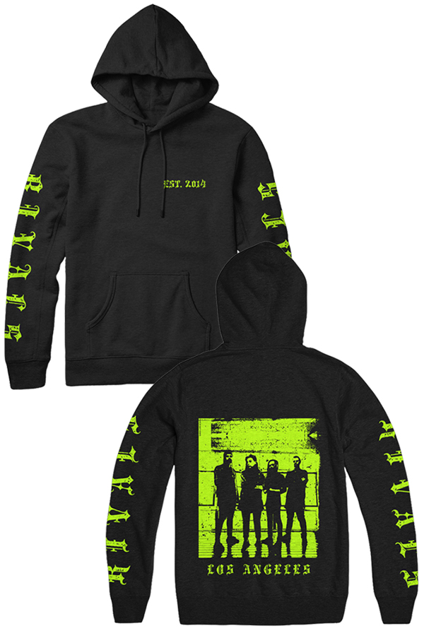 Rivals Hoodie (Lime Green)