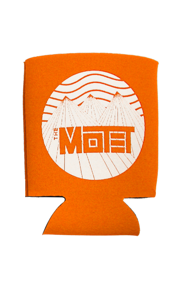 Mountain Can Cooler (Orange)