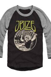 Burst Raglan (Black/Deep Heather)