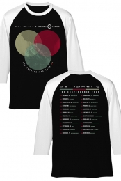 Convergence Tour Raglan (Black/White)