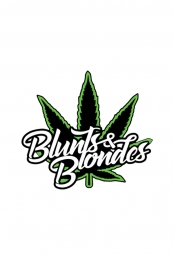 Blunts & Blondes Enamel Pin