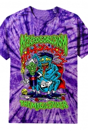 Magic Spider Purple Tie-Dye Tee