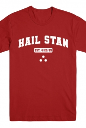Hail Stan Athletic Tee (Red)