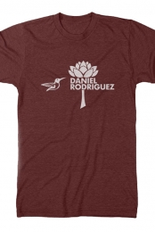 Hummingbird Tee (Heather Cardinal)